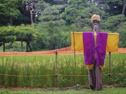 稲を守る黄門様