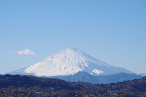 浮浪雲と富士山