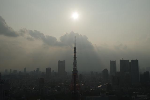 東京タワーと光のパイプオルガン
