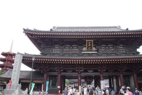 川崎大師 大山門と八角五重塔