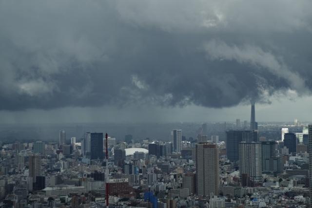 降水雲を撮る
