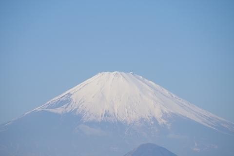 富士山にズームイン