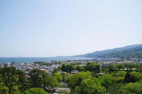 伊豆半島方面の眺め
