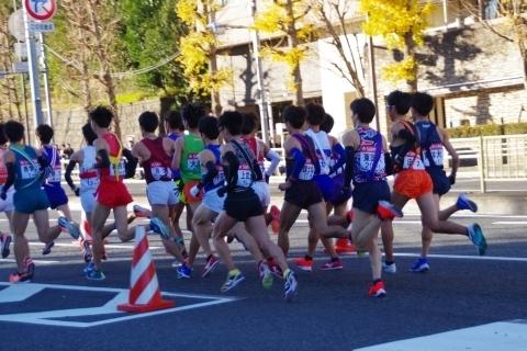 第94回箱根駅伝第1区新八ツ山橋4