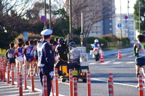 第94回箱根駅伝第1区新八ツ山橋6
