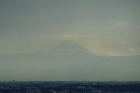 大雨のち富士山