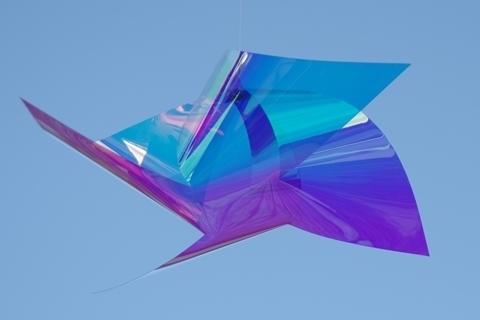 青空に風車1