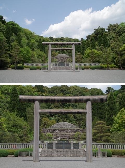 昭和天皇御陵・武蔵野陵